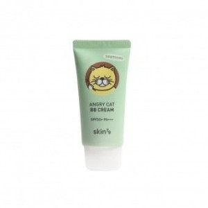 Skin79 Kojący krem BB Animal BB Cream Angry Cat SPF 50 Petal Beige 30ml