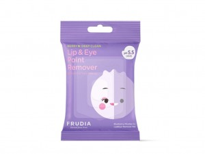 Frudia Blueberry Micellar 5.5 Lip & Eye Remover Pad Płatki Do Demakijażu