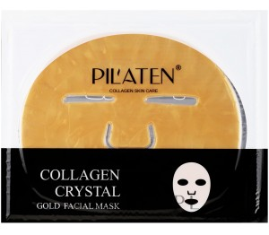 Pilaten Collagen Cystal Gold Facial Mask Kolagenowa Maska