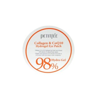 Petitfee 98% Hydro Gel Collagen Coenzyme Q10 Eye Patch Płatki Pod Oczy